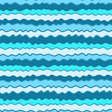 Colorful hand drawn seamless pattern, sea texture vector illustration