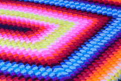 Colorful hand woven cotton Stock Photo
