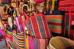 Colorful handbags Stock Photo
