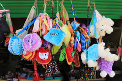 Colorful handcraft. Royalty Free Stock Photography