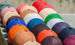 Colorful handicraft Stock Photo