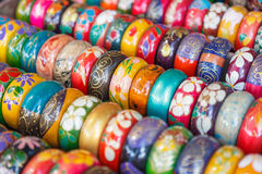 Colorful handicrafts In northern Thailand Royalty Free Stock Images