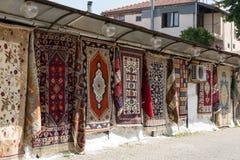Colorful Handmade Carpets Royalty Free Stock Photos