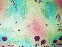 Colorful handmade paper. For the texture background Royalty Free Stock Photos