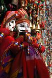 Colorful handmade traditional puppets for sale, Rajasthan,India Stock Image