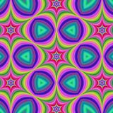 Colorful hexa star background Royalty Free Stock Photo