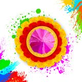 Colorful Happy Holi Royalty Free Stock Photos