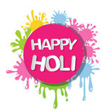 Colorful for Happy Holi invitation and greeting card. Abstract colorful for Happy Holi invitation and greeting card Stock Photography