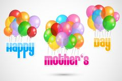 Colorful Happy Mother's Day Stock Photo