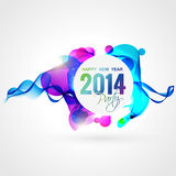 Colorful happy new year Royalty Free Stock Photography