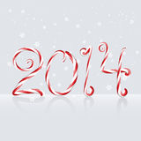 Colorful happy new year. Creative happy new year 2014 greeting design vector illustration