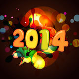 Colorful happy new year. Design Royalty Free Illustration
