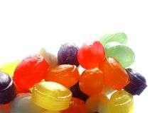 Colorful hard candies Stock Images