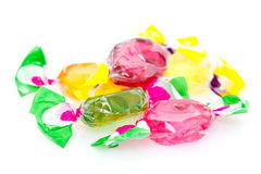 Colorful Hard Candy Stock Photos