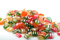 Colorful hard candy background Stock Photography