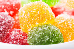 Colorful hard jujube Stock Photography