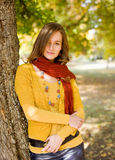 Colorful harmony for autumn fasion. Stock Images
