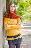 Colorful harmony for autumn fasion. Royalty Free Stock Images