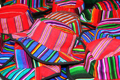 Colorful hat. S made in Guatemala. Photo taken in February 2009 Stock Image