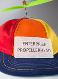 Colorful hat with propeller Stock Photography