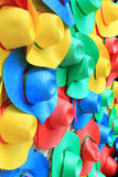 Colorful hats Royalty Free Stock Images