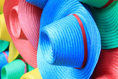 Colorful hats Stock Image