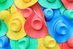 Colorful hats Stock Images
