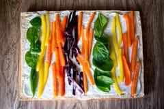 Rainbow Veggies Royalty Free Stock Photography