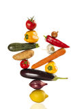 Colorful healthy fresh vegetables Stock Images