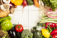 Colorful healthy fresh vegetables Royalty Free Stock Image