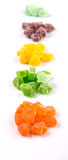 Colorful Heap Of Sugar Jelly Candy II Royalty Free Stock Photography