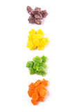 Colorful Heap Of Sugar Jelly Candy III Royalty Free Stock Photo