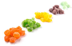 Colorful Heap Of Sugar Jelly Candy IV Royalty Free Stock Image