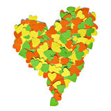 Colorful heart Stock Photos