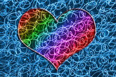 Colorful heart Royalty Free Stock Image