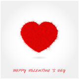 Colorful heart shape on background Stock Photo