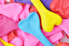 Colorful Heart Shape Balloons. Royalty Free Stock Image