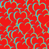 Colorful Heart Shapes Royalty Free Stock Images