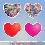 Colorful heart sign Royalty Free Stock Photography