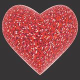 Colorful Heart Vector Royalty Free Stock Photo