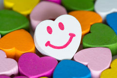 Colorful hearts background Royalty Free Stock Image
