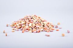 Colorful herbal pills 5 Stock Photo