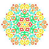 Colorful Hexagon Ornament Royalty Free Stock Image