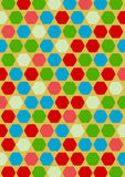 Colorful hexagon pattern background Stock Photos