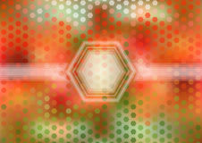 Colorful hexagonal background Royalty Free Stock Photos