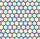 Hexagonal seamless pattern Royalty Free Stock Image