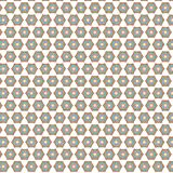 Colorful Hexagonal Star Stylish Unique Elegance  Modern  Rhombus Pattern Background. Abstract Colorful Hexagonal Star  Modern Unique  Fabric Fashion Texture Stock Images