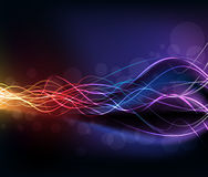 Colorful high light dynamic background Royalty Free Stock Images