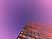 Colorful Highrise royalty free stock photos
