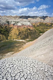Colorful hills in Badlands Royalty Free Stock Images